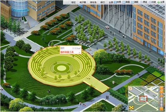 西安电子科技大学数字三维虚拟校园管理系统项目圆满